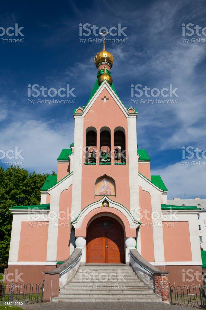 Church of Saint Gorazd stock photo