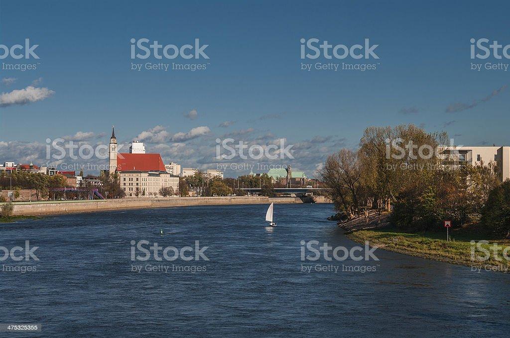 Church of Saint Jochannis, Jochanniskirche, Magdeburg, Germany stock photo