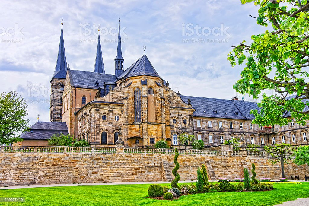 Church of Saint Michael in Bamberg in Germany stock photo
