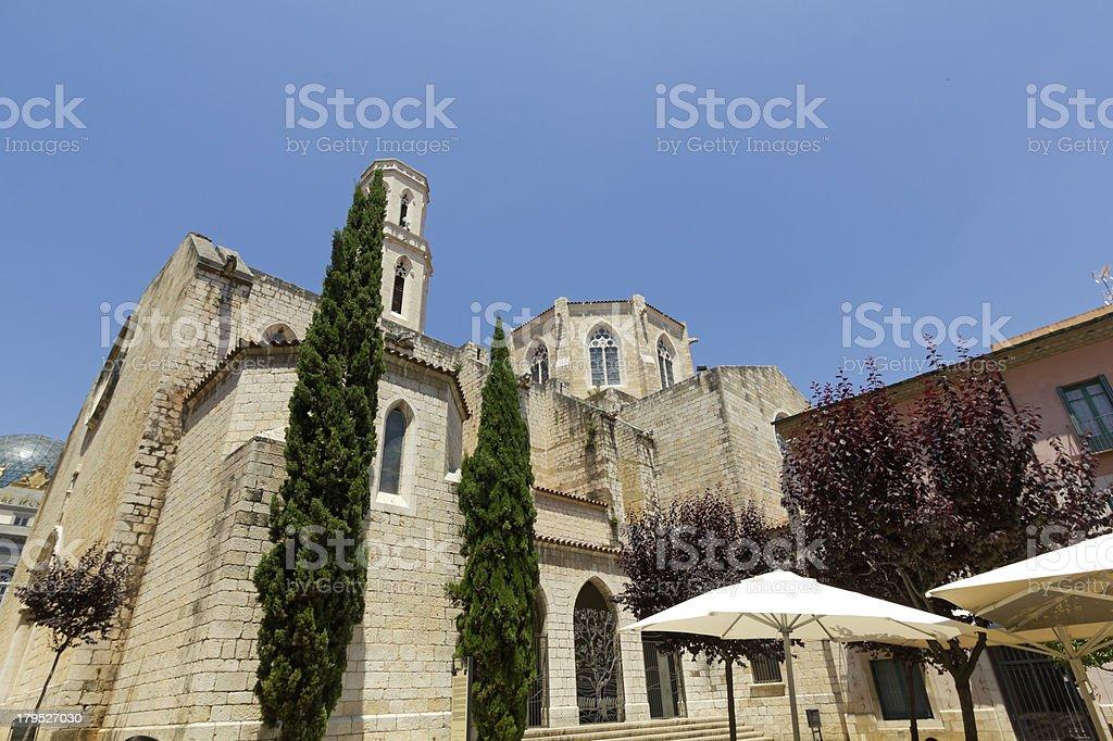 Church of Saint Peter royalty-free stock photo