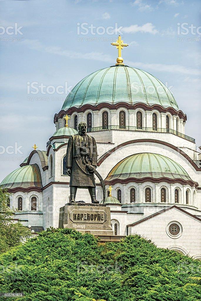 Church of Saint Sava. Belgrade, Serbia royalty-free stock photo