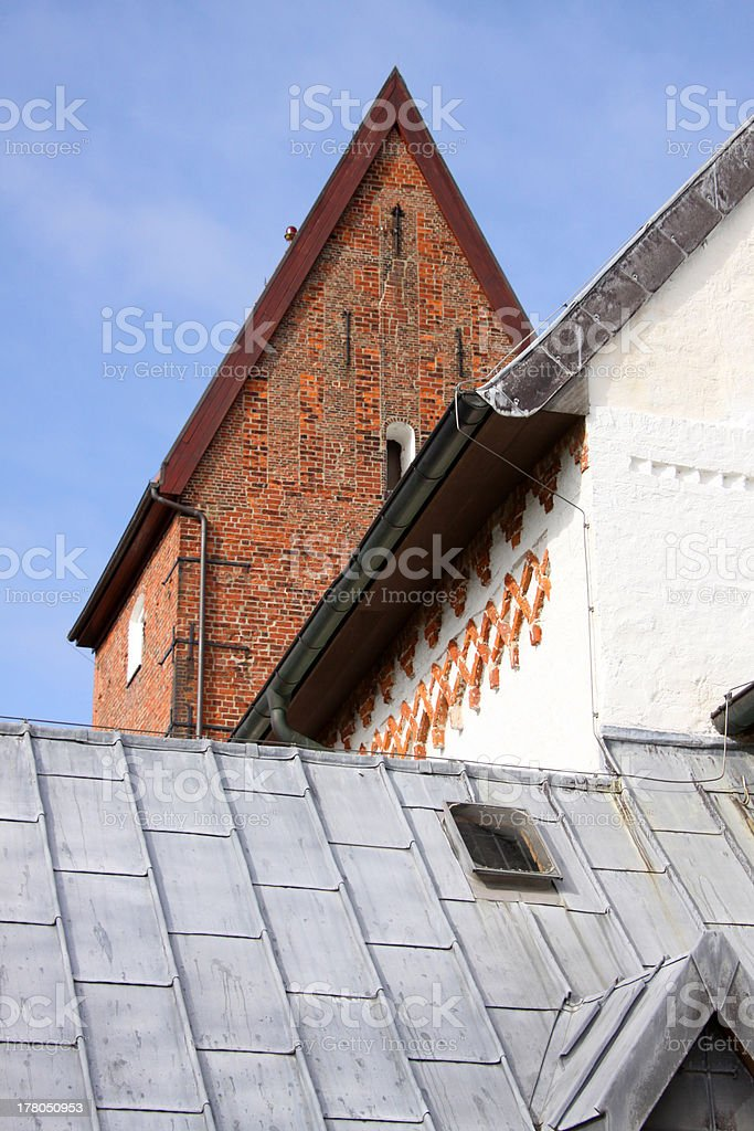 Church of Saint Severin in Keitum on Sylt stock photo