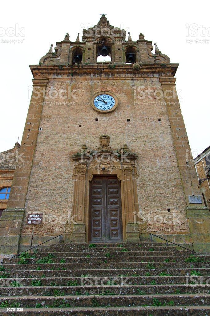 Church of Saint Steven (Chiesa San Stefano), Piazza Armerina, Sicily stock photo
