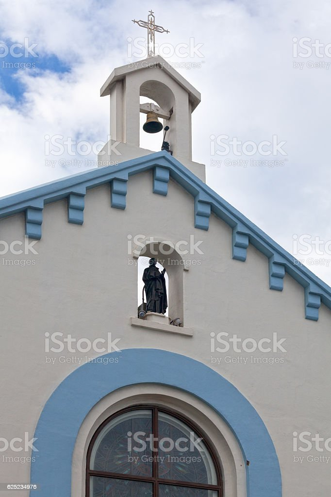 Church of Saint-Ignace stock photo