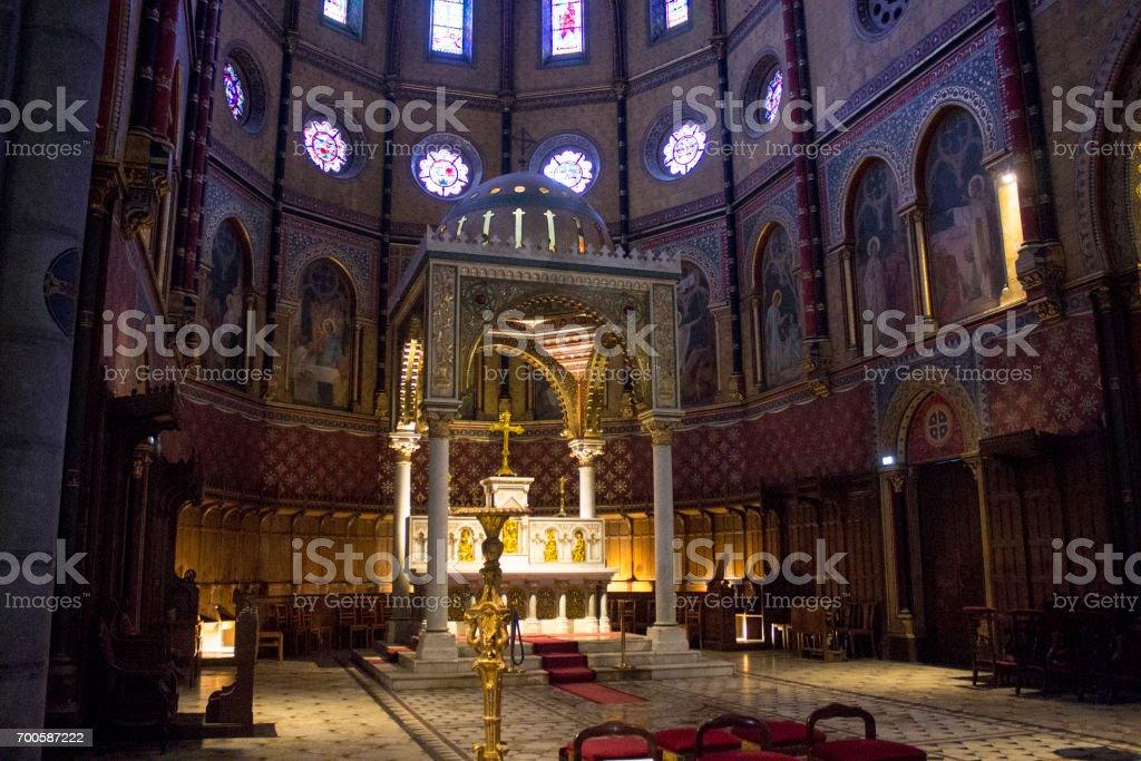 Church of Saint-Martin, Pau, France stock photo