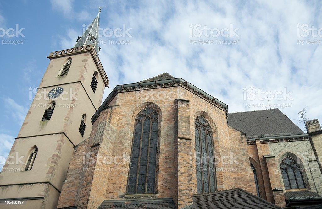 Church of Saint-Pierre-le-Vieux, Strasbourg, France royalty-free stock photo