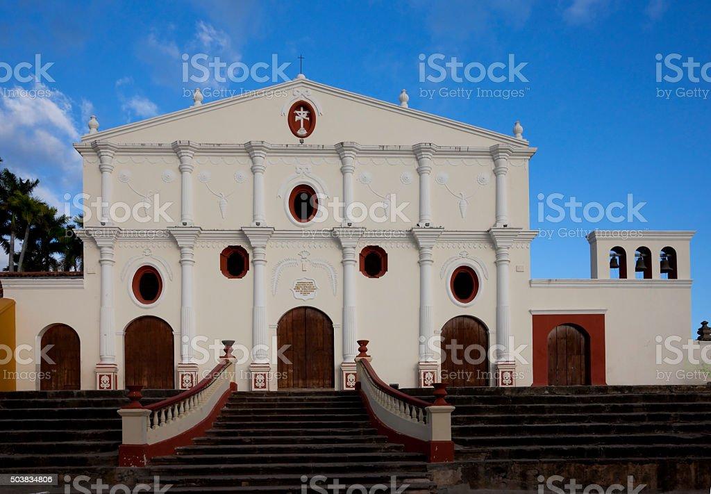 Church of San Francisco in Granada, Nicaragua stock photo