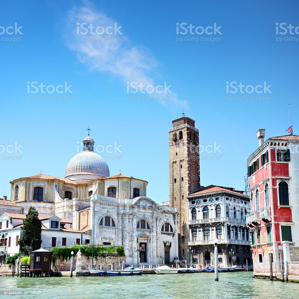 Church of San Geremia, Venice stock photo