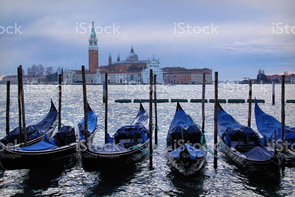 Church of San Giorgio Maggiore on Isola San Giorgio, Venice, Italy stock photo