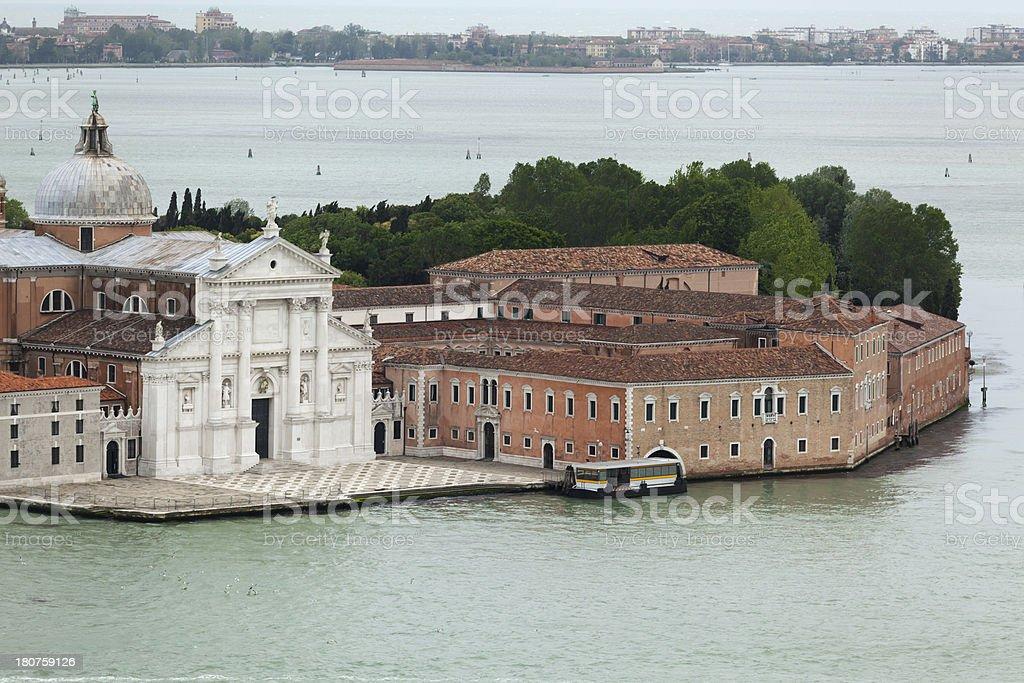 Church of San Giorgio Maggiore royalty-free stock photo