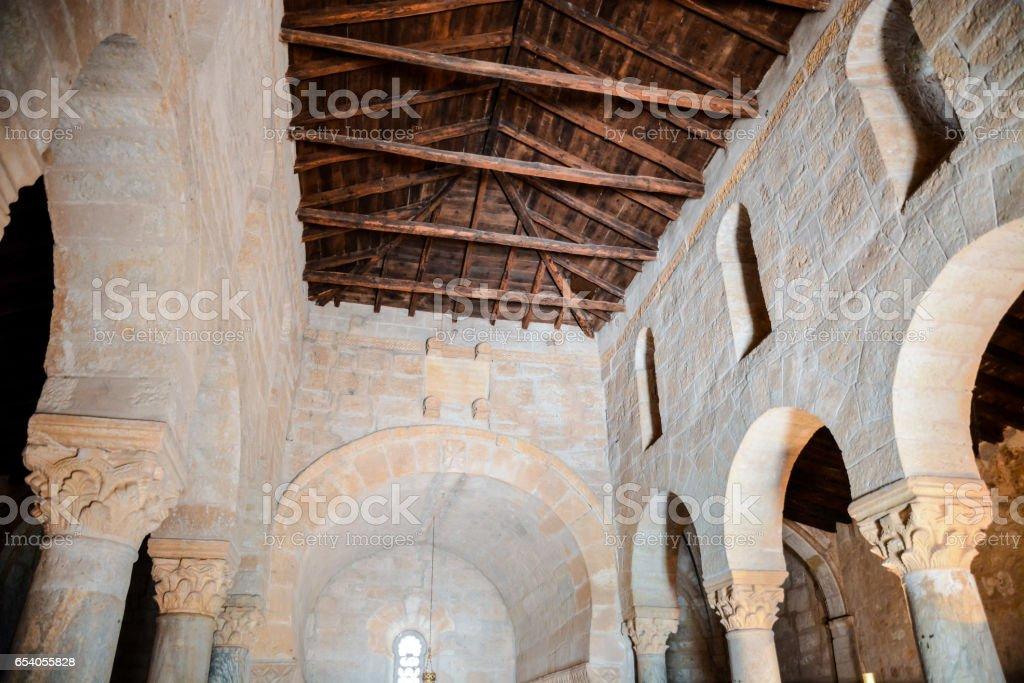 Church of San Juan Bautista stock photo