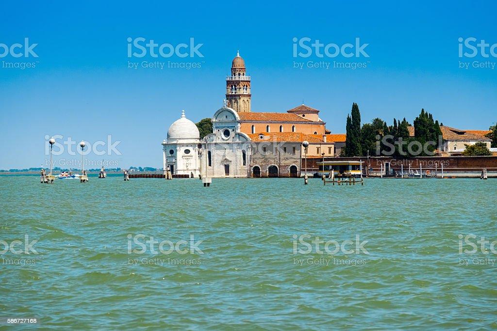 church of San Michele, Venice, Italy stock photo