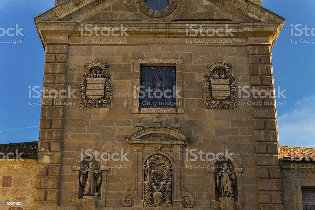 Church of San Pablo royalty-free stock photo