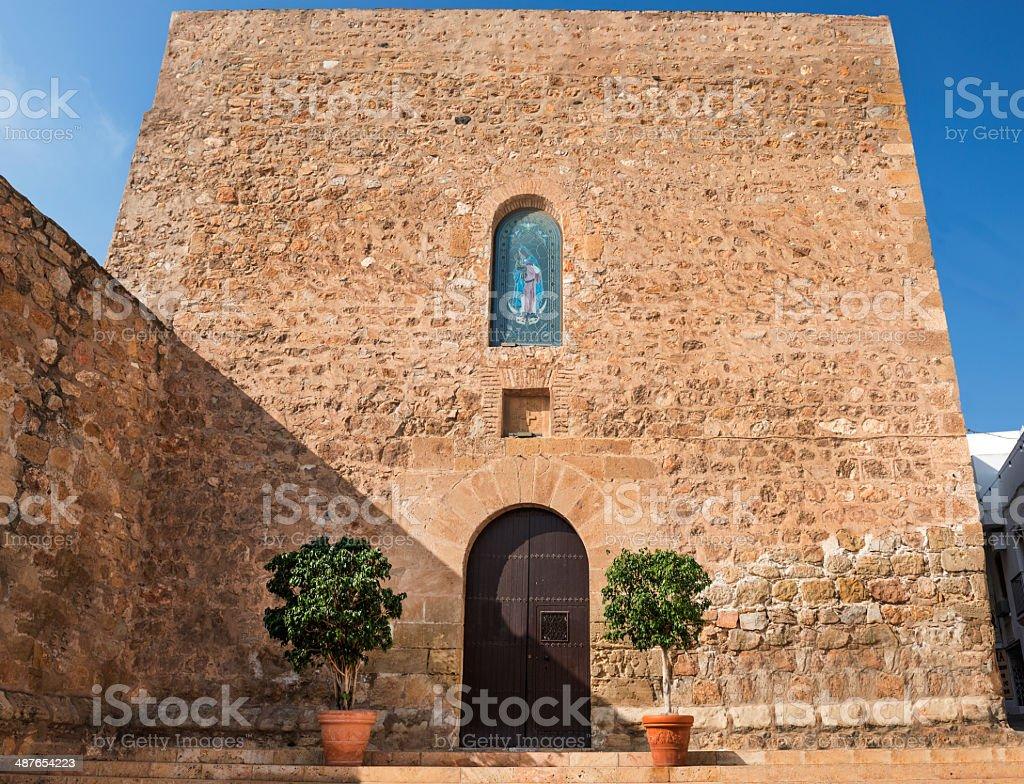 Church of San Pascual De Baylon stock photo