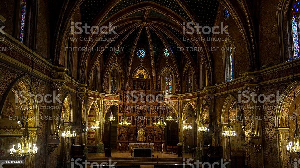 Church of San Pedro (Teruel) stock photo