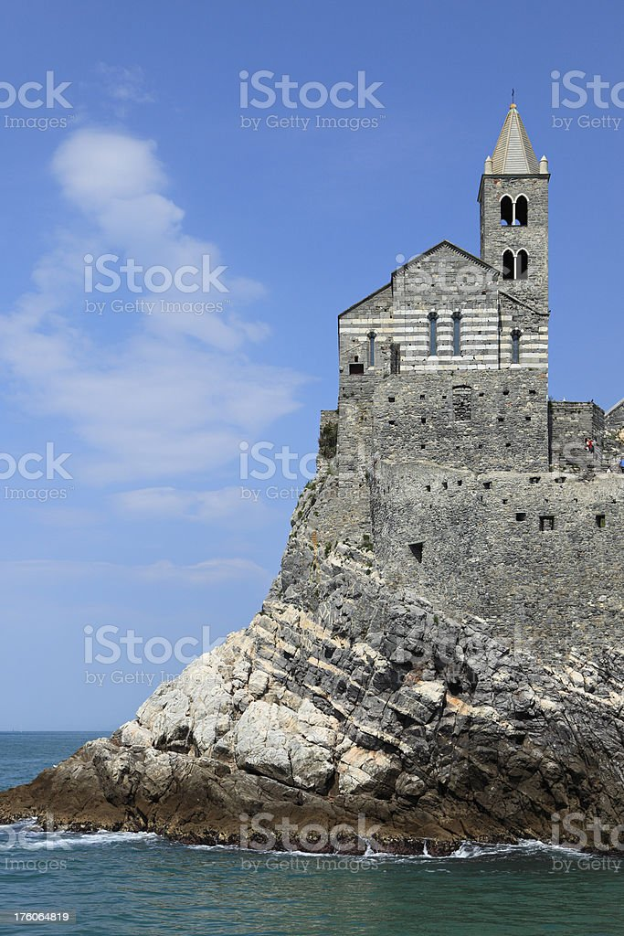 Church of San Pietro stock photo