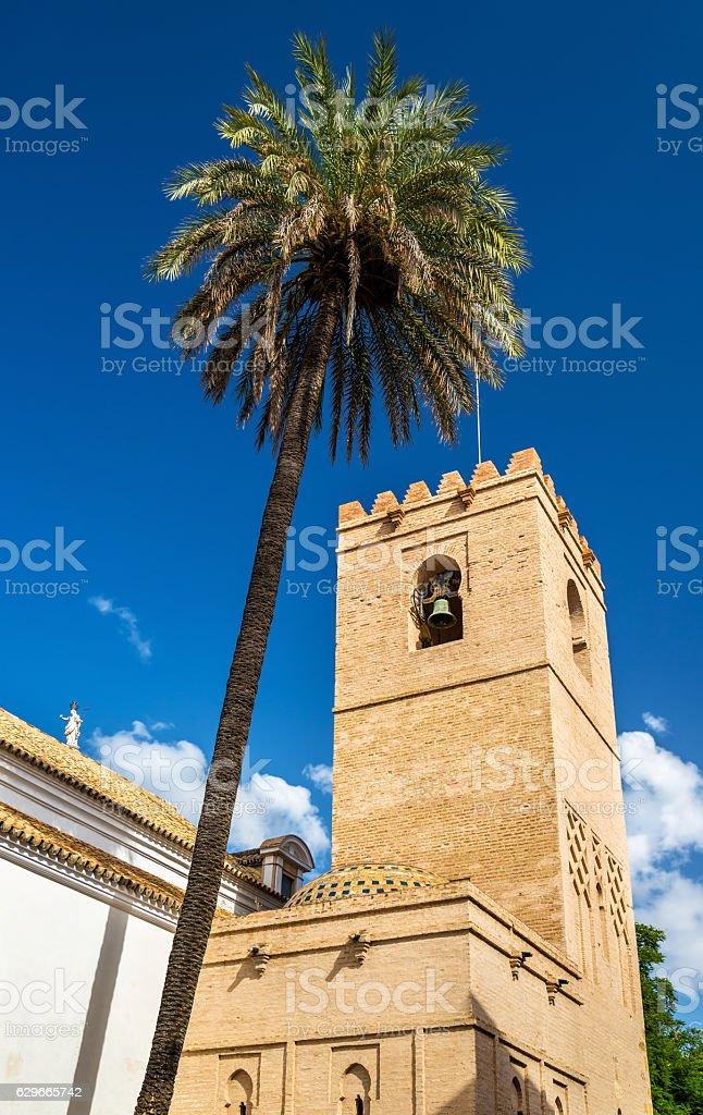 Church of Santa Catalina in Seville, Spain stock photo