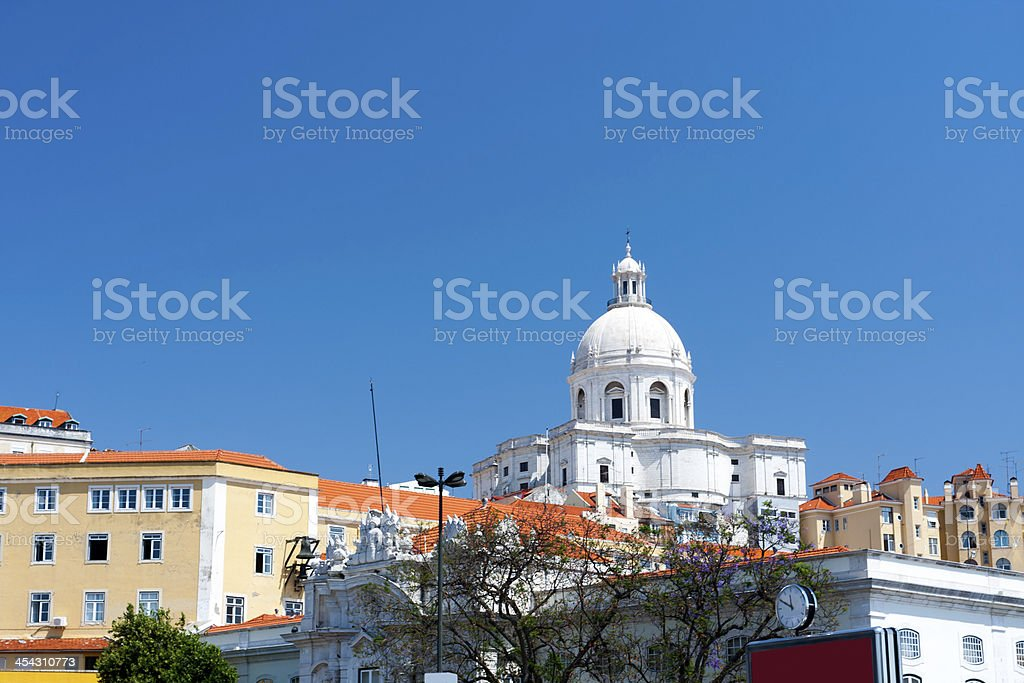 Church of Santa Engr?cia royalty-free stock photo