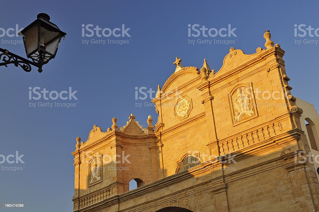 Church of Santa Maria della Purità royalty-free stock photo