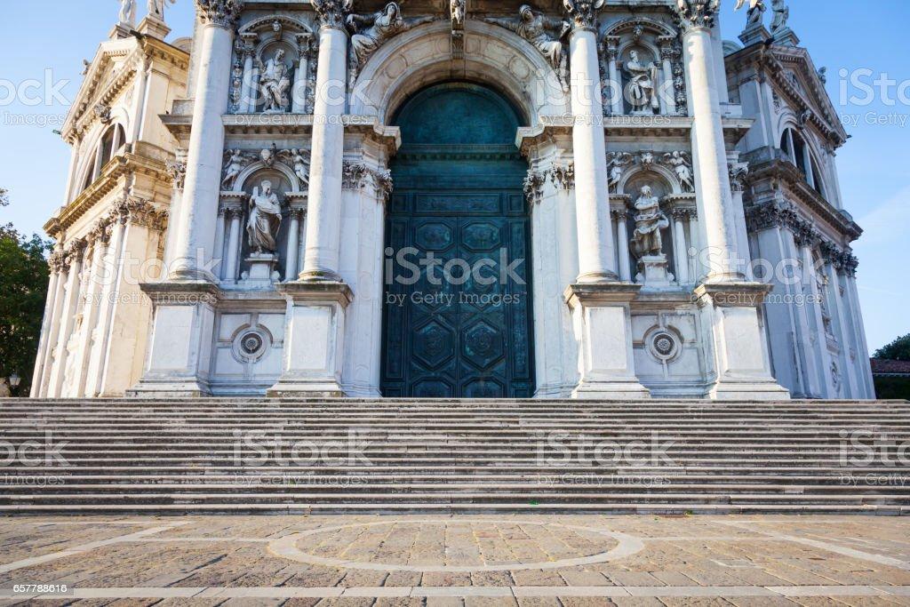 Church of Santa Maria della Salute stock photo