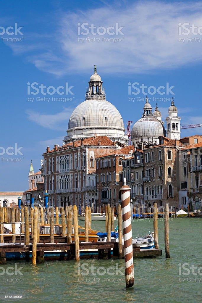 Church of Santa Maria di Salute, Venice royalty-free stock photo