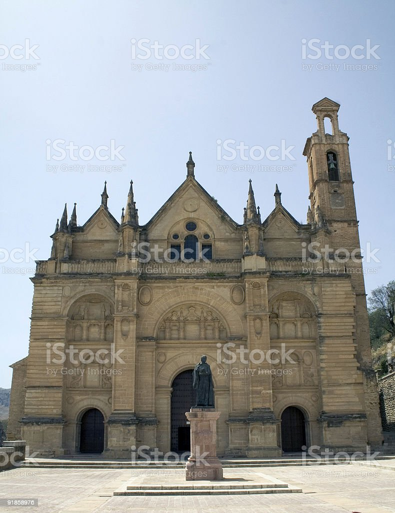 Church of Santa Maria la Mayor, Antequera stock photo