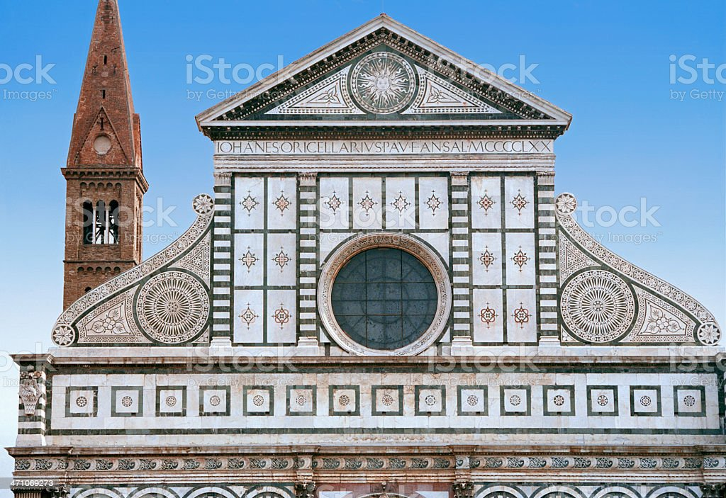 Church of Santa Maria Novella royalty-free stock photo