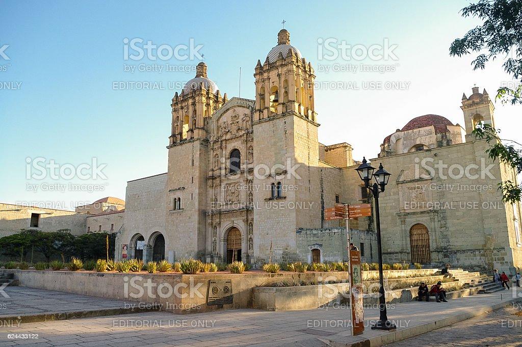 Church of Santo Domingo de Guzman in Oaxaca, Mexico stock photo