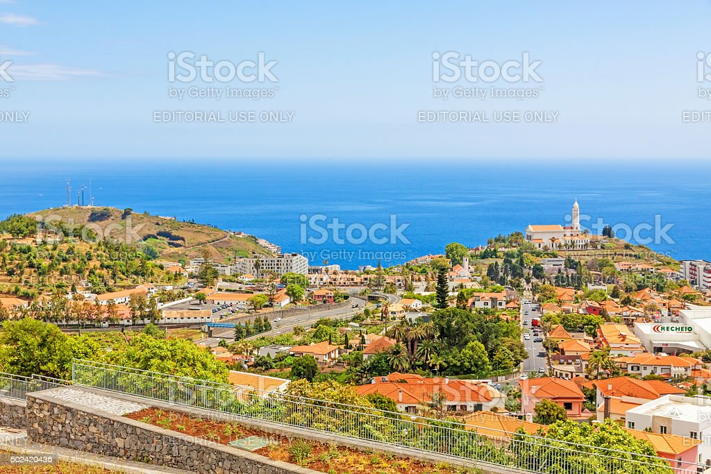 Church of Sao Martinho, Funchal, Madeira stock photo