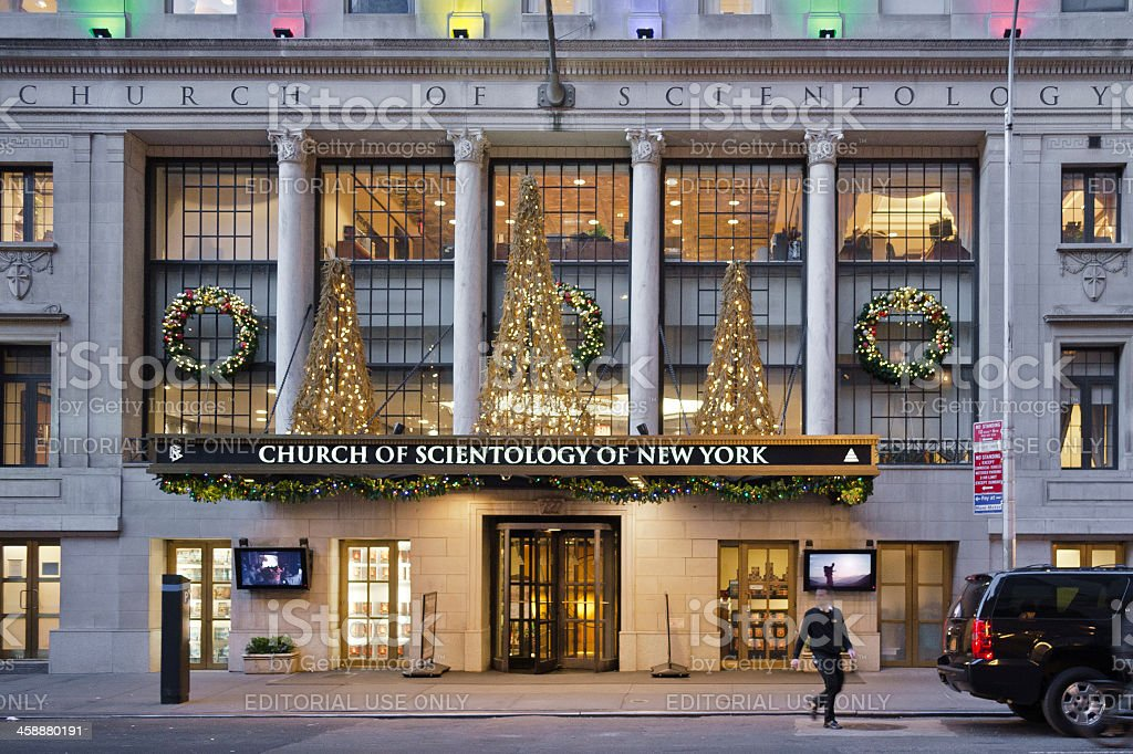 Church Of Scientology New York City royalty-free stock photo