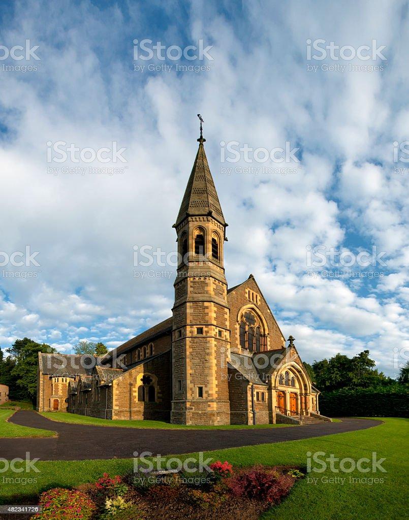 Church of Scotland, Jedburgh Old&Trinity Parish Church, Scotland stock photo