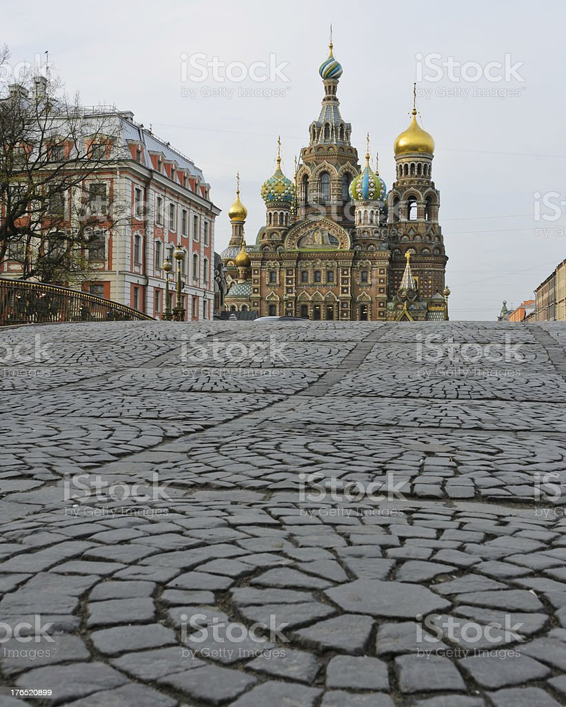 Church of Spilled Blood, Russia royalty-free stock photo