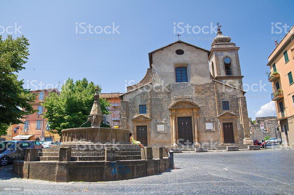 Church of SS. Faustino and Giovita. Viterbo. Lazio. Italy. stock photo
