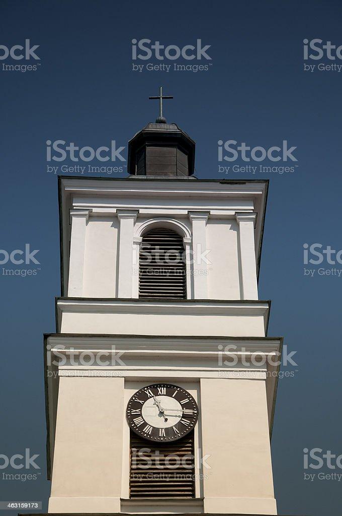 Church of St. Alexander in Suwalki stock photo