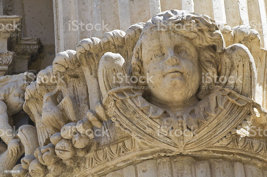 Church of St. Angelo. Lecce. Puglia. Italy. royalty-free stock photo