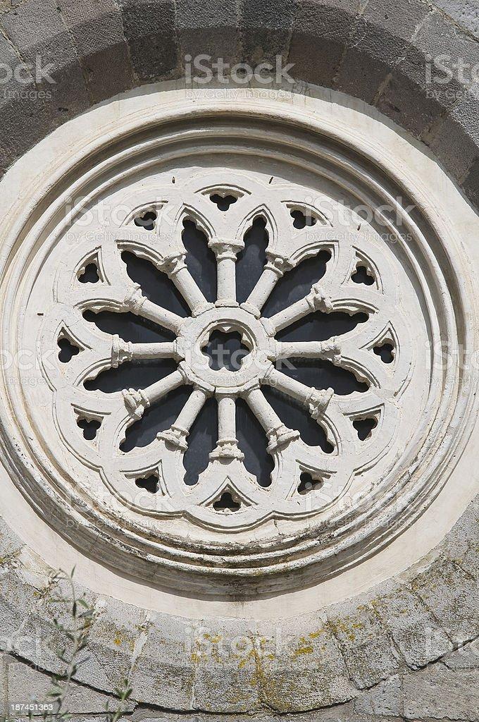 Church of St. Antonio. Melfi. Basilicata. Italy. royalty-free stock photo