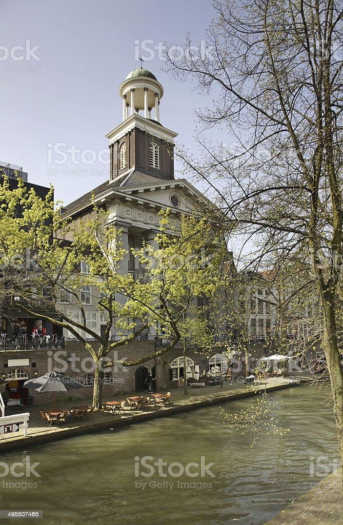 Church of St. Augustinus in Utrecht. Netherlands stock photo