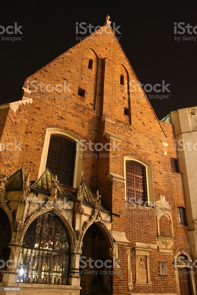 Church of St. Barbara royalty-free stock photo