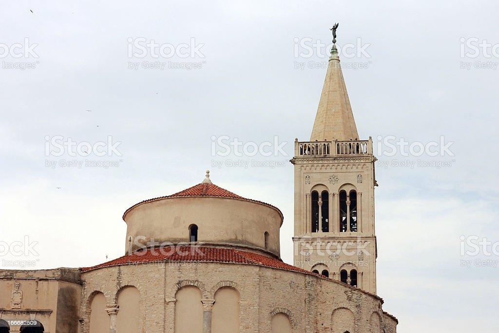 Church of st. Donat royalty-free stock photo