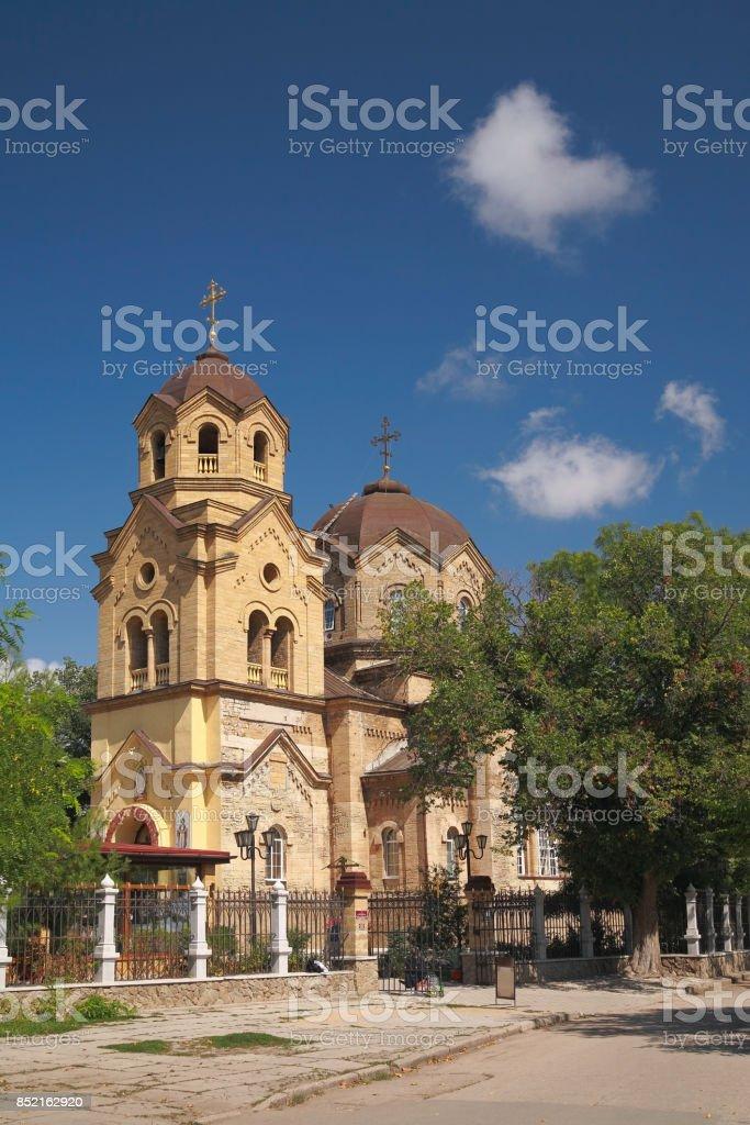 Church of St. Elijah in Yevpatoria stock photo
