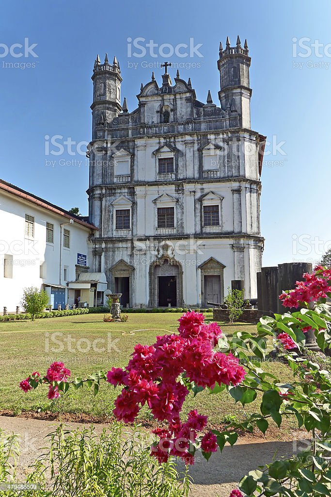 Church of St. Francis of Assisi; Goa, India stock photo