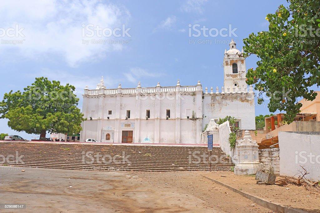 church of st francis of assisi [hospital] diu gujarat india stock photo