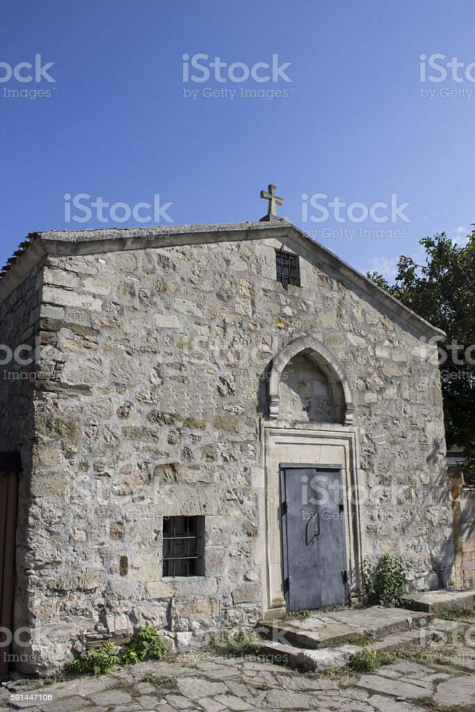 Church of St. George stock photo