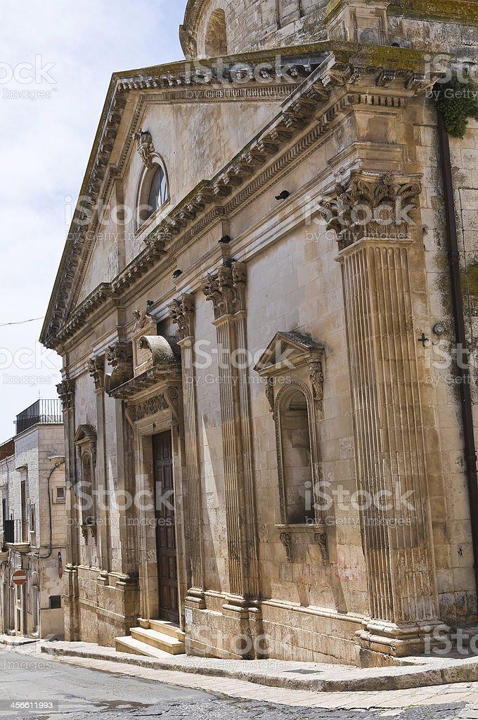 Church of St. Gioacchino. Ceglie Messapica. Puglia. Italy. stock photo