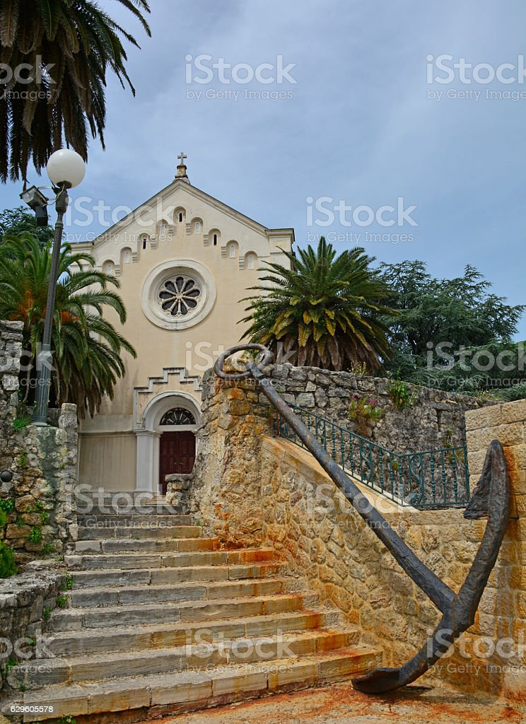 Church of St Jerome stock photo