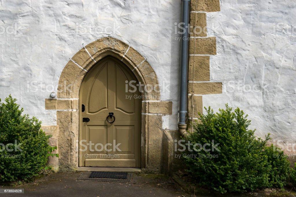 Church of St. Johannisberg, Rhineland-Palatinate, Germany stock photo