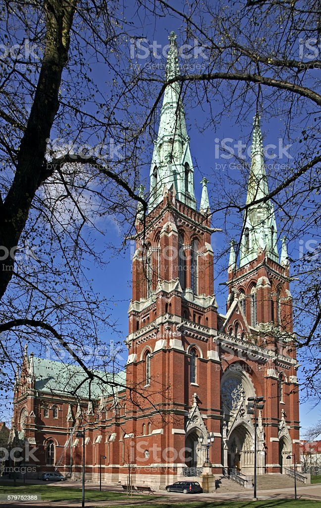 Church of St. John (Johanneksenkirkko) in Helsinki. Finland stock photo
