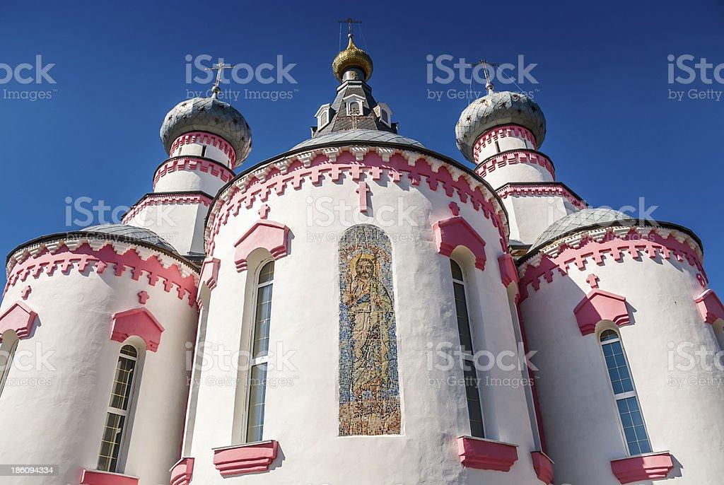Church of St John the Baptist royalty-free stock photo