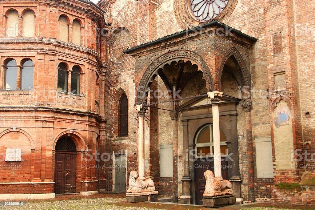 Church of St. Luca, Cremona, Italy stock photo