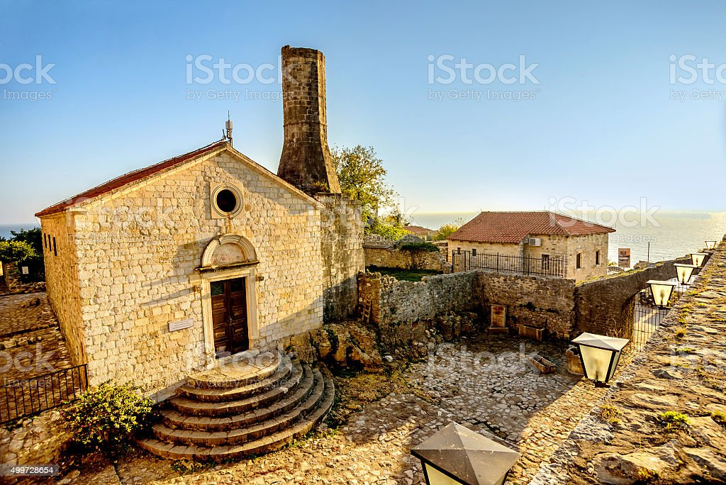 Church of St. Maria, built by Venetions in 1510 stock photo